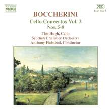 Luigi Boccherini (1743-1805): Cellokonzerte Vol.2, CD