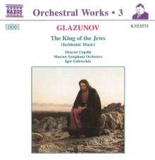 Alexander Glasunow (1865-1936): Der König der Juden op.95, CD