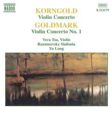 Karl Goldmark (1830-1915): Violinkonzert op.28, CD