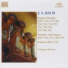 Johann Sebastian Bach (1685-1750): Choräle BWV 714,717,718,720,722,724,725,, CD
