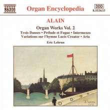 Jehan Alain (1911-1940): Sämtliche Orgelwerke Vol.2, CD
