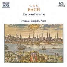Carl Philipp Emanuel Bach (1714-1788): Cembalosonaten Wq.62,16;Wq.65 Nr.22,30,37,48;Wq.70,1, CD