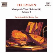 Georg Philipp Telemann (1681-1767): Tafelmusik Vol.2 (Teile 1 & 2), CD