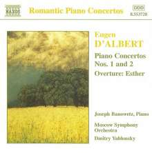 Eugene d' Albert (1864-1932): Klavierkonzerte Nr.1 & 2, CD