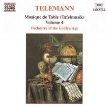 Georg Philipp Telemann (1681-1767): Tafelmusik Vol.4 (Teil 3), CD