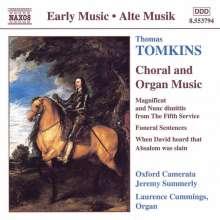 Thomas Tomkins (1572-1656): Geistliche Musik, CD