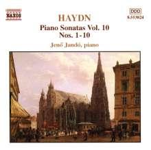 Joseph Haydn (1732-1809): Klaviersonaten H16 Nr.1,4,5,7-11, CD