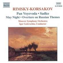 Nikolai Rimsky-Korssakoff (1844-1908): Orchesterwerke, CD