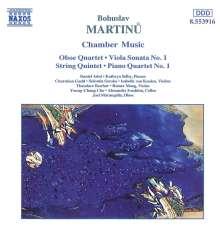 Bohuslav Martinu (1890-1959): Streichquintett, CD