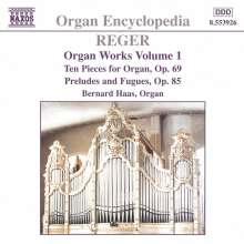 Max Reger (1873-1916): Sämtliche Orgelwerke Vol.1, CD