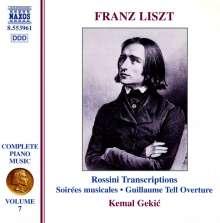 Franz Liszt (1811-1886): Klavierwerke Vol.7, CD