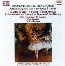 Ondrej Lenard: Invitation To The Dance, CD