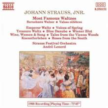 J. Strauss/ Lenard: Most Famous Waltzes, CD