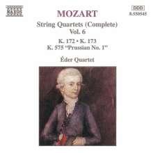 Wolfgang Amadeus Mozart (1756-1791): Streichquartette Nr.12,13,21, CD