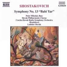 "Dimitri Schostakowitsch (1906-1975): Symphonie Nr.13 ""Babi Yar"", CD"