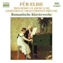 Für Elise - Romantische Klavierwerke, CD