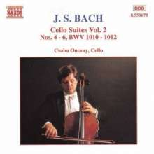Johann Sebastian Bach (1685-1750): Cellosuiten BWV 1010-1012, CD