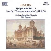Joseph Haydn (1732-1809): Symphonien Nr.64,84,90, CD