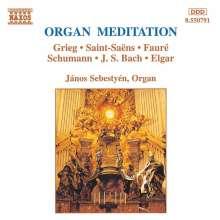 Janos Sebestyen - Organ Meditation, CD