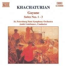 Aram Khachaturian (1903-1978): Gayaneh-Suiten Nr.1-3, CD