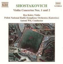 Dimitri Schostakowitsch (1906-1975): Violinkonzerte Nr.1 & 2 (opp.99 & 129), CD