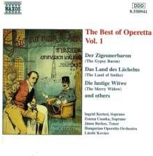 Best of Operetta 1, CD