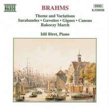 Johannes Brahms (1833-1897): Variationen d-moll, CD