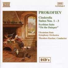Serge Prokofieff (1891-1953): Cinderella-Suiten Nr.1-3, 2 CDs