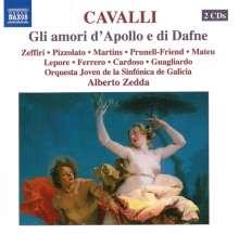 Pier Francesco Cavalli (1602-1676): Gli amori d'Apollo e di Dafne, 2 CDs