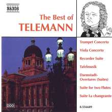 Best of Telemann, CD