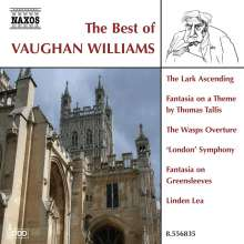The Best of Vaughan Williams (Naxos), CD