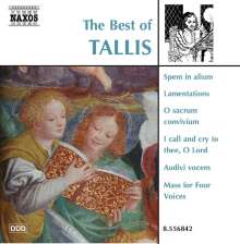 The Best of Tallis (Naxos), CD