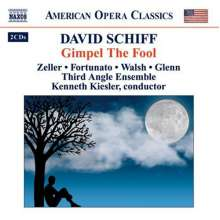 David Schiff (geb. 1945): Gimpel The Fool, 2 CDs