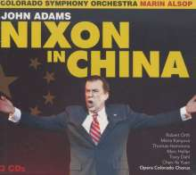 John Adams (geb. 1947): Nixon in China (Oper in 3 Akten), 3 CDs