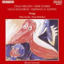 Peder Severin singt Lieder, CD