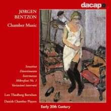 Jörgen Bentzon (1897-1951): Kammermusik, CD