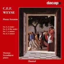 Christoph Ernst Friedrich Weyse (1774-1842): Klaviersonaten Nr.5-8, CD