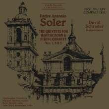 Padre Antonio Soler (1729-1783): Quintette für Cembalo & Streicher Nr.1-3, CD