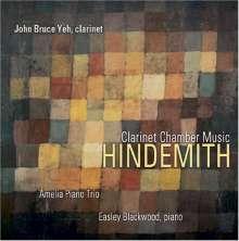 Paul Hindemith (1895-1963): Quintett für Klarinette & Streichquartett, CD
