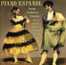 Jorge Federico Osorio - Piano Espanol, CD