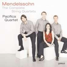 Felix Mendelssohn Bartholdy (1809-1847): Streichquartette Nr.0-7, 3 CDs