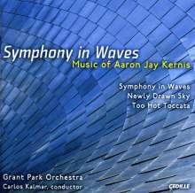 Aaron Jay Kernis (geb. 1960): Symphony in Waves, CD