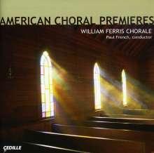 American Choral Premieres, CD