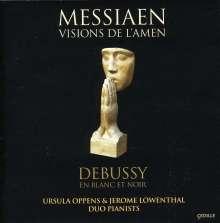 Olivier Messiaen (1908-1992): Visions de l'Amen für 2 Klaviere, CD