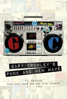 Gary Crowley's Punk And New Wave, 3 CDs