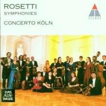 Antonio Rosetti (1750-1792): Symphonien Vol.1 (Kaul I Nr.23,25,27,32), CD