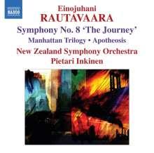"Einojuhani Rautavaara (geb. 1928): Symphonie Nr.8 ""The Journey"", CD"