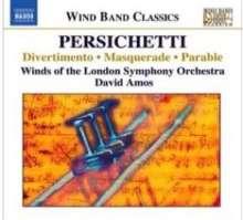 Vincent Persichetti (1915-1987): Kammermusik für Bläser, CD