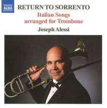 Joseph Alessi - Return to Sorrento, CD