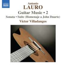 Antonio Lauro (1917-1986): Gitarrenwerke Vol.2, CD